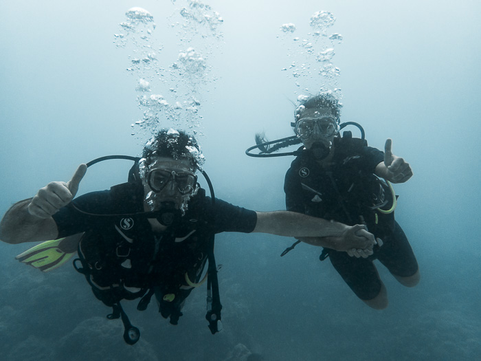 Diving in Maupiti by Dancing the Earth