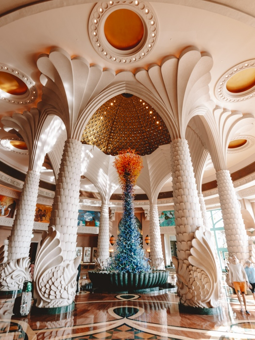 Atlantis the Palm hall entrance by Dancing the Earth