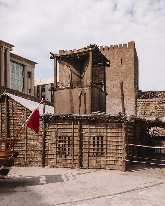 Dubai museum traditionnal house by Dancing the Earth