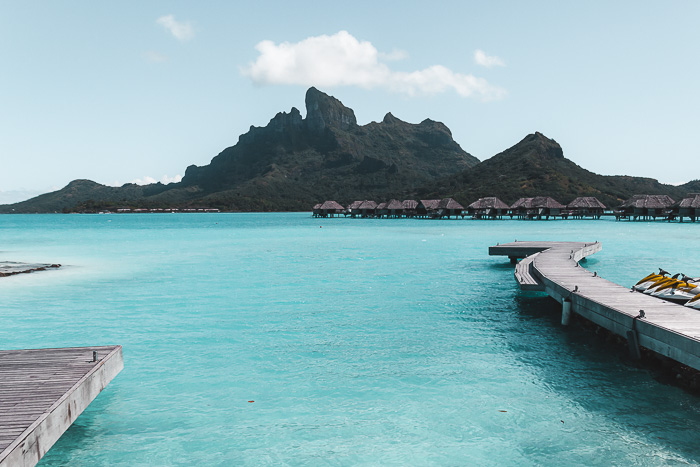 Bora Bora island from the Four Seasons by Dancing the Earth