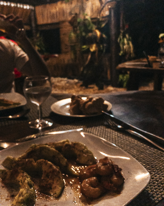 Dinner at pension Tupuna in Huahine by Dancing the Earth