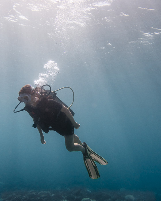 French Polynesia travel guide diving in Huahine by Dancing the Earth