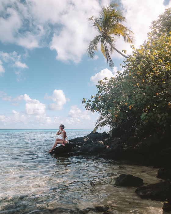 At the secret coral garden of Huahine by Dancing the Earth