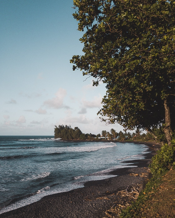 French Polynesia travel guide Papenoo black sand beach by Dancing the Earth