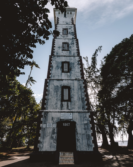 French Polynesia travel guide Tahiti Pointe Vénus lighthouse by Dancing the Earth