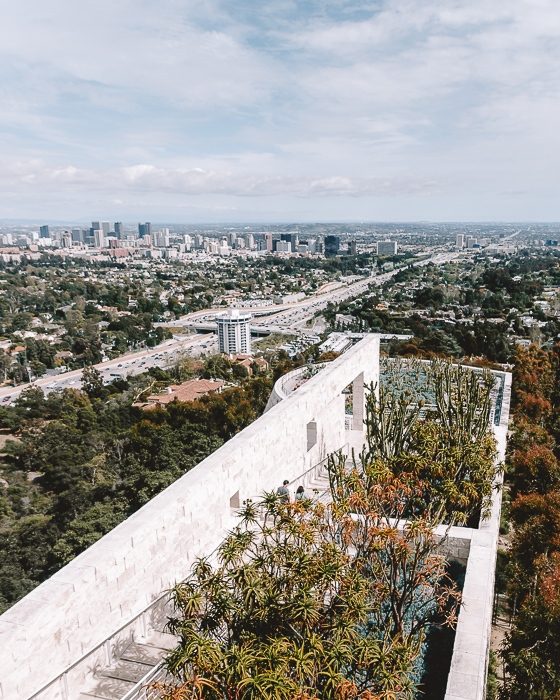 Getty Center by Dancing the Earth