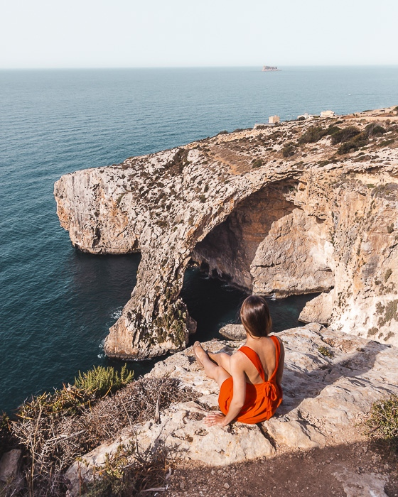 Malta travel guide Blue Grotto by Dancing the Earth