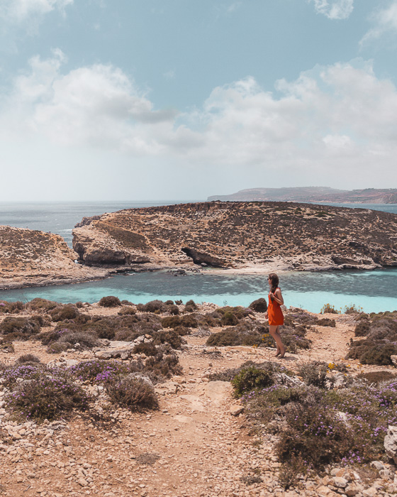 Malta travel guide walking in Comino by Dancing the Earth