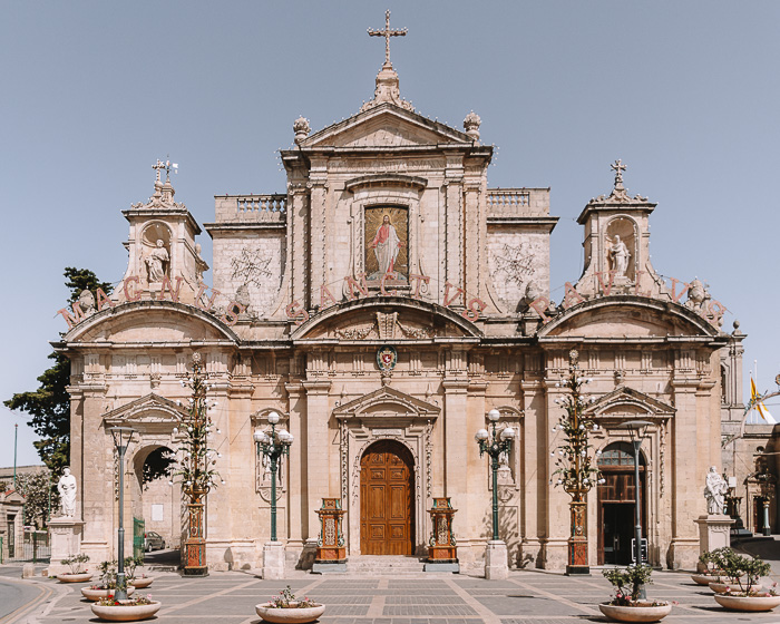 Malta travel guide Ir-Rabat St Paul Cathedral by Dancing the Earth