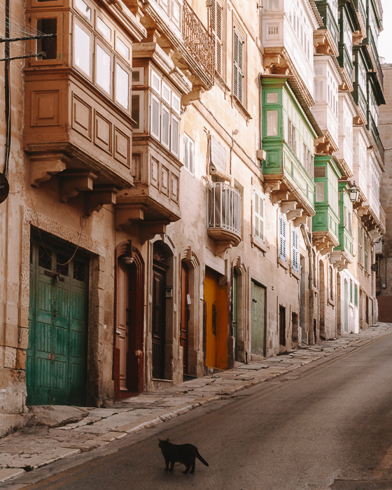 Malta travel guide Valletta street to the ramparts by Dancing the Earth
