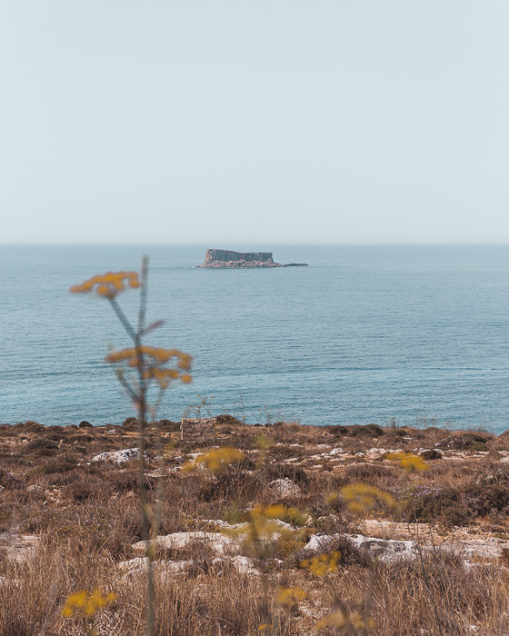 Malta travel guide view from Hagar Qim by Dancing the Earth