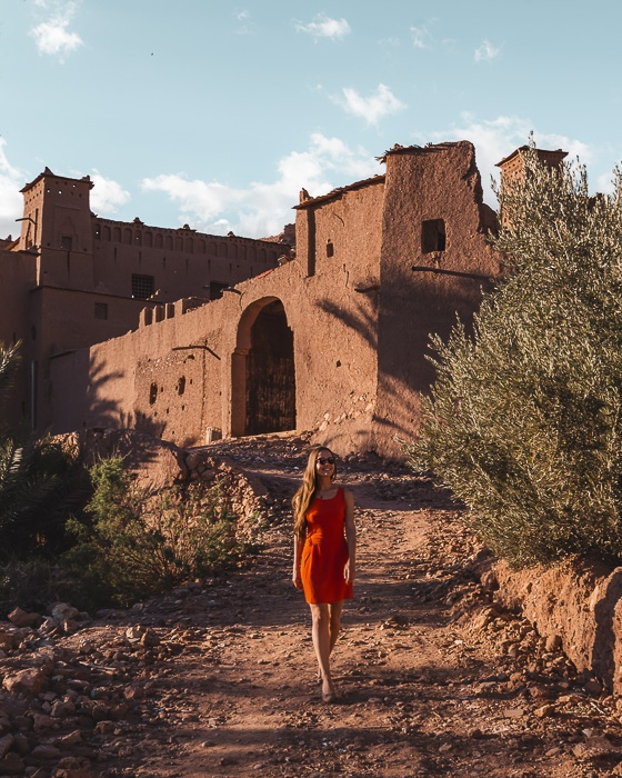Morocco travel guide Ait Ben Haddou lower entrance by Dancing the Earth