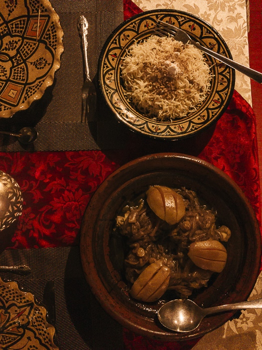 Dinner at Riad Tamdakhte by Dancing the Earth