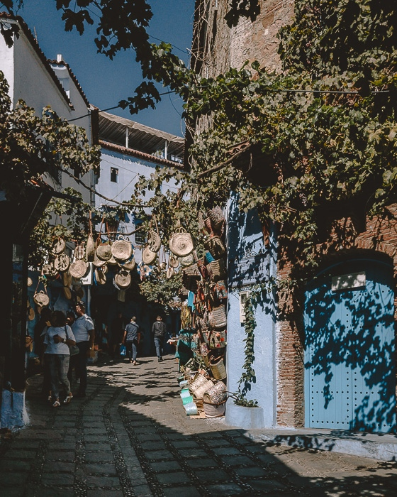 Chefchaouen streets by Dancing the Earth