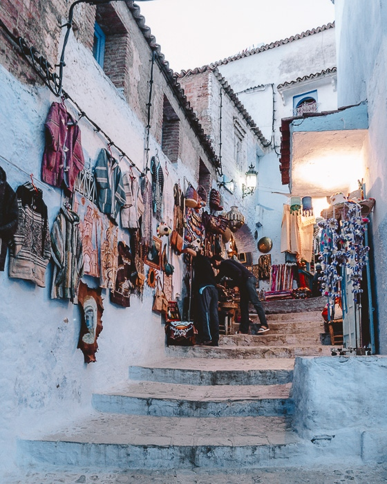 Chefchaouen medina by Dancing the Earth