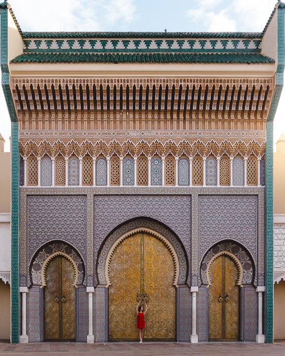 Morocco travel guide Fez Royal Palace by Dancing the Earth