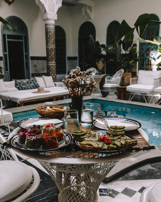 Morocco travel guide Marrakesh Ksar Kasbah riad lunch by Dancing the Earth