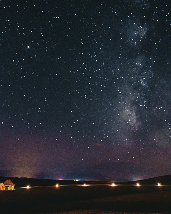 Morocco travel guide Milky Way from Scarabeo Camp by Dancing the Earth