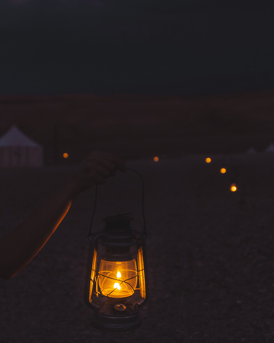 Morocco travel guide Scarabeo Camp lantern by Dancing the Earth