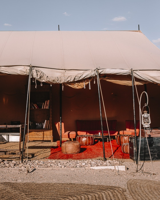 Scarabeo Camp living room tent by Dancing the Earth
