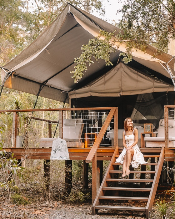 Paperbark Camp by Dancing the Earth