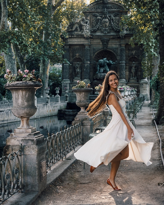 Paris in Summer Jardin du Luxembourg by Dancing the Earth