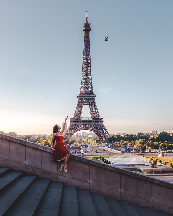 Trocadero staircases by Dancing the Earth