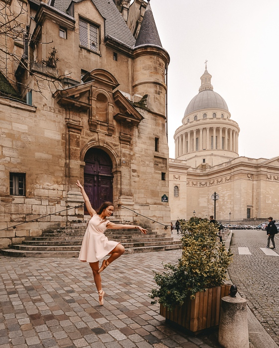 Winter in Paris Panthéon by Dancing the Earth
