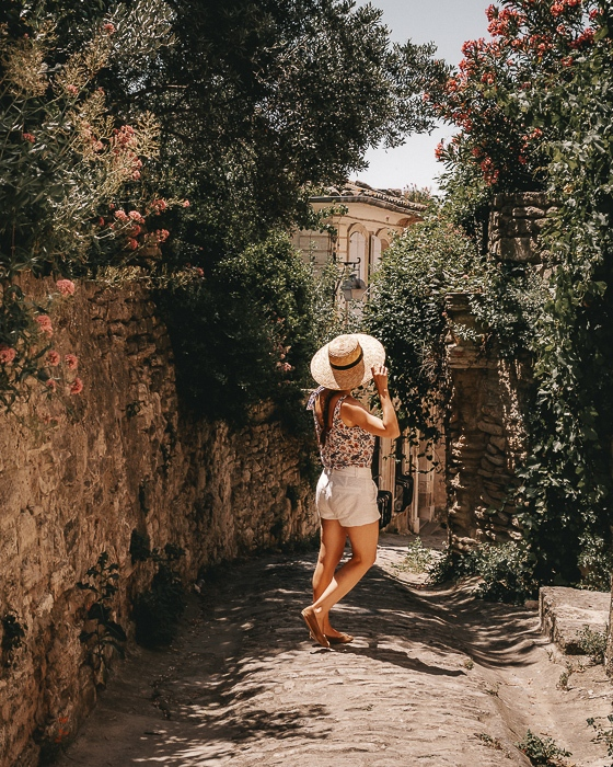 Gordes street by Dancing the Earth