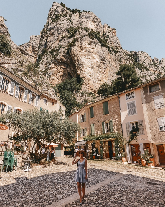 Moustiers Sainte Marie square by Dancing the Earth