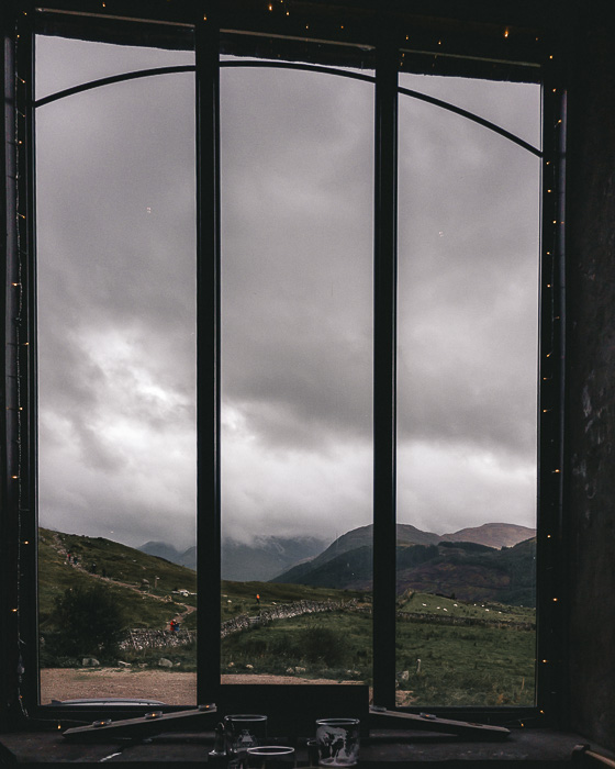 The view from Ben Nevis Inn by Dancing the Earth