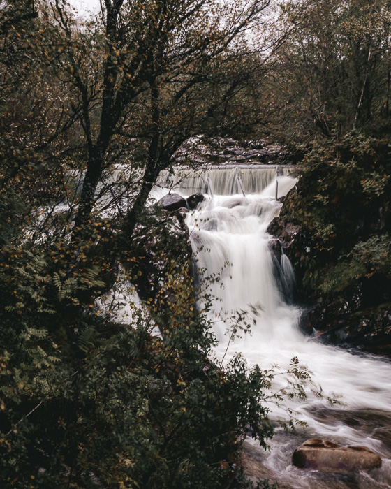 Scotland travel itinerary Ben Nevis north face hike waterfall by Dancing the Earth