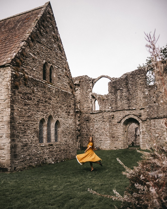 Scotland travel itinerary Inchmahome Priory by Dancing the Earth