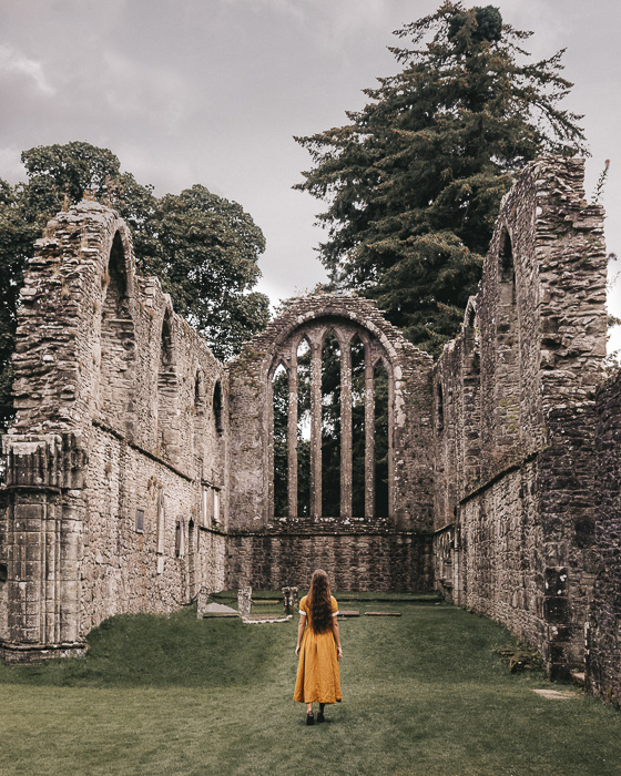 Scotland travel itinerary Inchmahome Priory chapel by Dancing the Earth