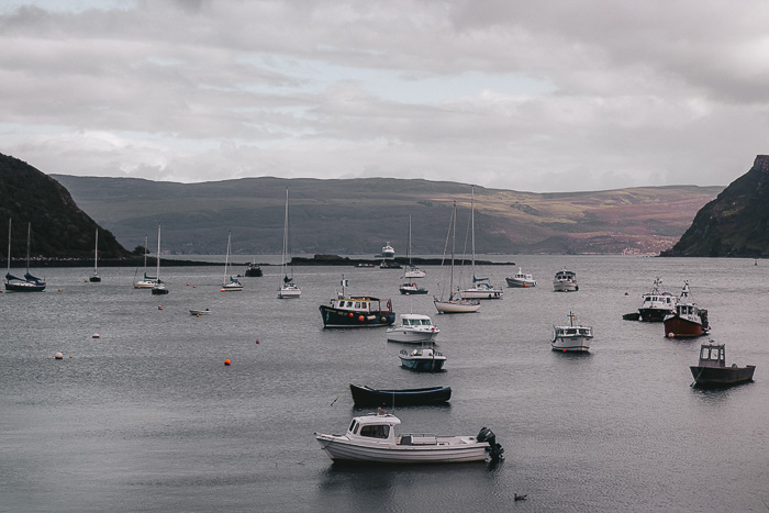 Scotland travel itinerary Isle of Skye Portree by Dancing the Earth