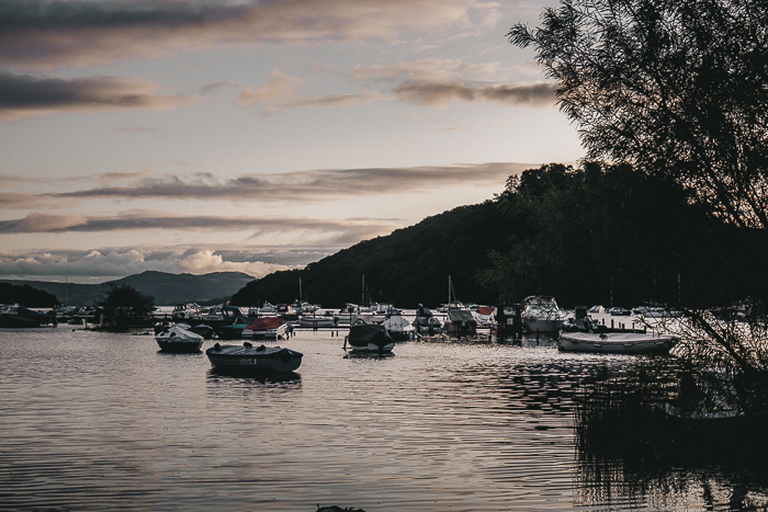 Scotland travel itinerary sunset in Loch Lomond by Dancing the Earth