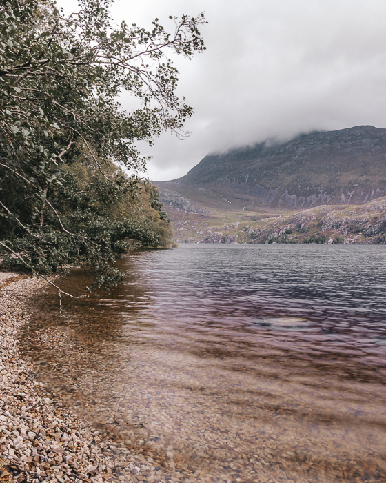 Loch Maree bay by Dancing the Earth