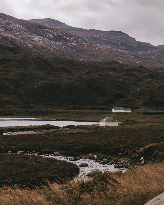 Torridon river by Dancing the Earth