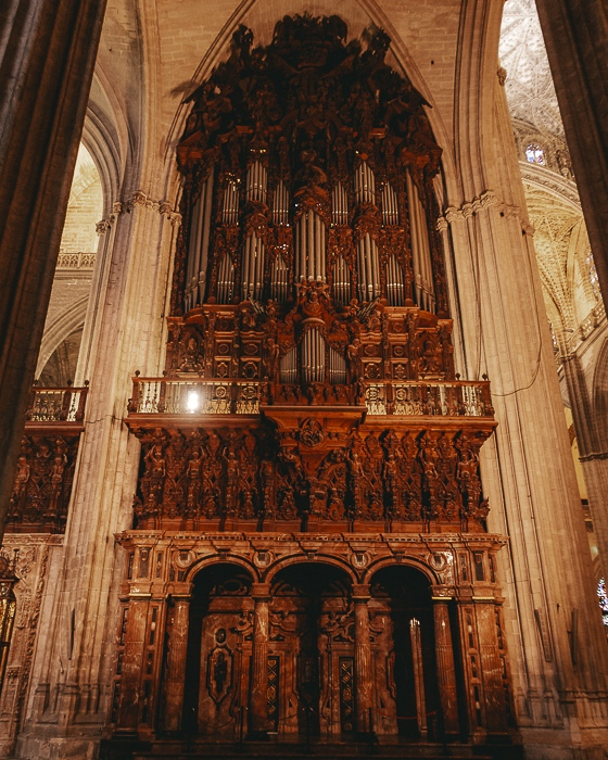 Cathedral de Seville organ by Dancing the Earth