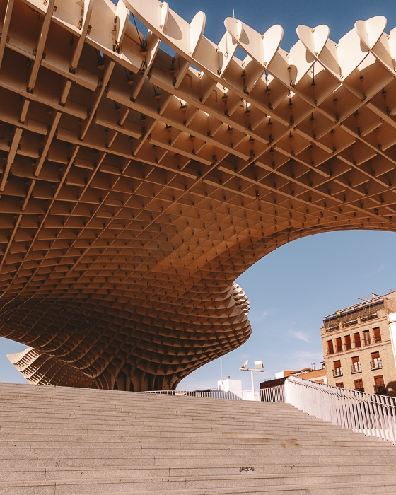 Seville metropol parasol by Dancing the Earth