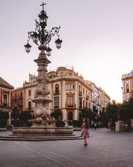 Seville Plaza Giralda by Dancing the Earth