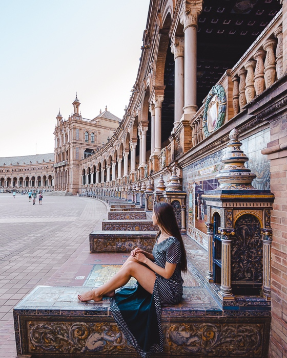 Seville Plaza de Espana cities corners by Dancing the Earth