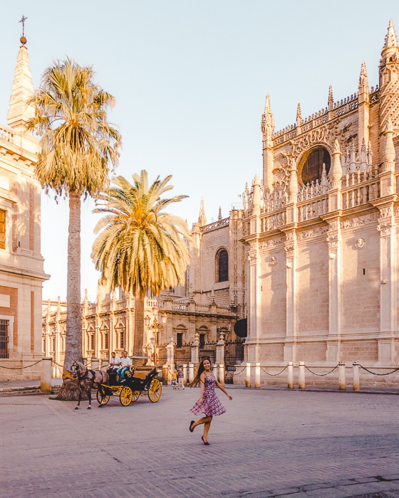 Seville sunrise at the Cathedral by Dancing the Earth