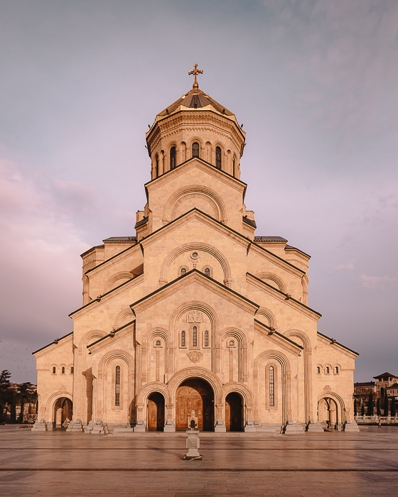 Tbilisi Sameba Holy Trinity Cathedral by Dancing the Earth