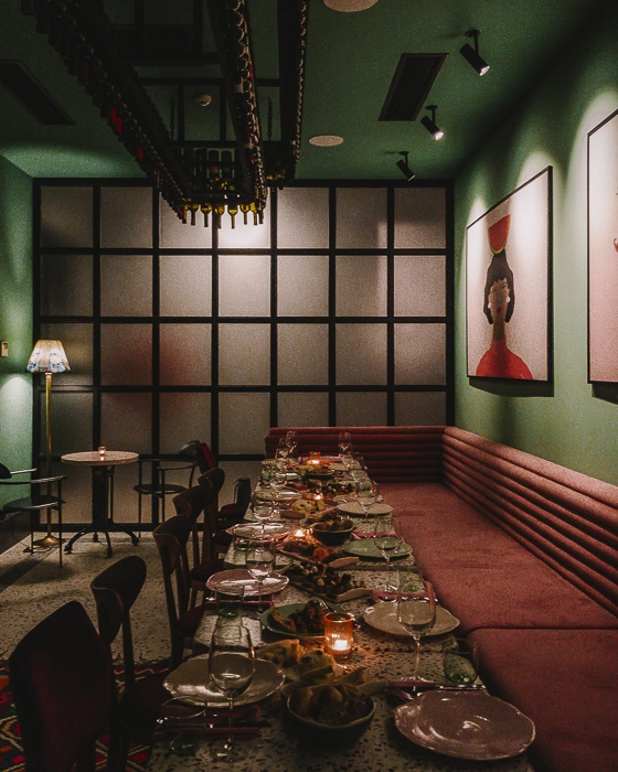 Tbilisi gVino restaurant by Dancing the Earth