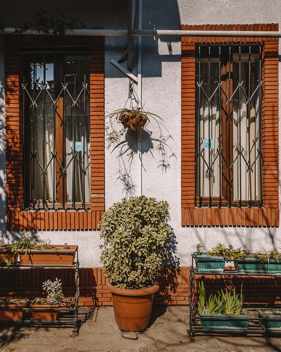 Tbilisi old town windows by Dancing the Earth