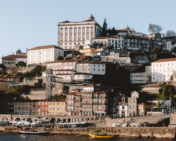 Porto weekend itinerary Porto close up from Teleferico de Gaia by Dancing the Earth