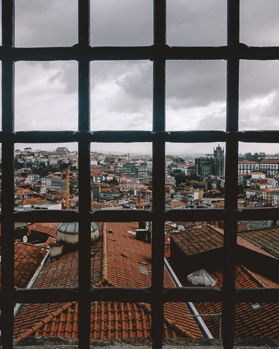 Porto weekend itinerary View of Porto from Museu de Fotografia by Dancing the Earth