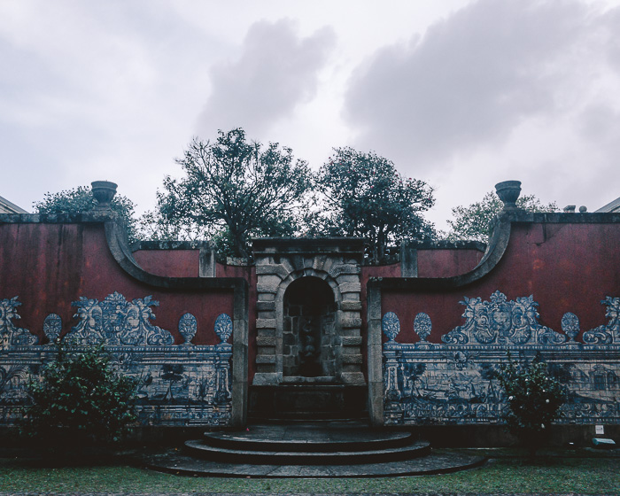 Porto weekend itinerary garden of Soares dos Reis museum by Dancing the Earth