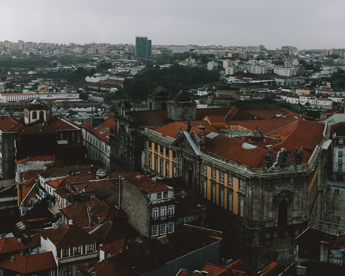 View from Torre dos Clerigos by Dancing the Earth